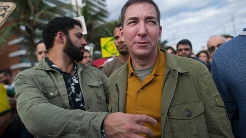 Glenn Greenwald slap highlights the depth of division in Brazilian politics