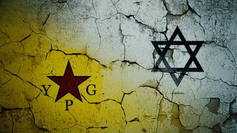Where does Israel stand with regard to the terrorist YPG group