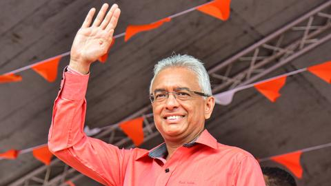 Mauritius elects incumbent PM for five-year term