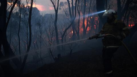 'Uncharted territory' as bushfires rage across Australia's east