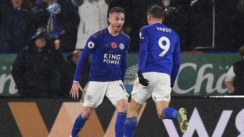 Leicester, Chelsea leapfrog Man City as Arsenal, Tottenham fall behind