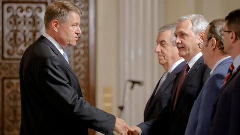 Romania's Iohannis in pole position for presidential vote