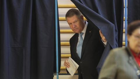 Romania's Iohannis wins presidential ballot, will face runoff – exit polls