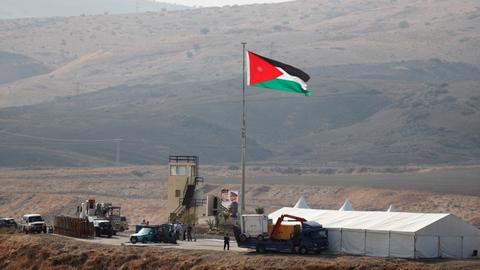Jordan retakes twin border enclaves leased to Israel in 1994