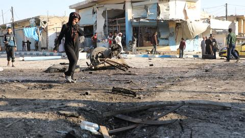 Car bomb attack kills at least eight civilians in Syria's Tal Abyad