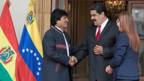 Latin America slams Bolivian president's resignation