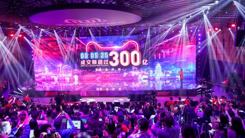 Alibaba Singles' Day sales hit $23B in first nine hours