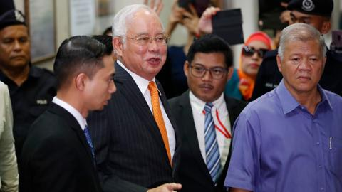 Malaysian ex-PM Najib ordered to enter defense in 1MDB case