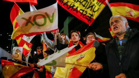 Spanish far right party doubles its seats in parliament