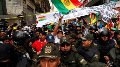 What's happening in Bolivia?