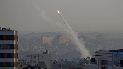 Iran-backed Islamic Jihad launch substantial rocket fire at Israel