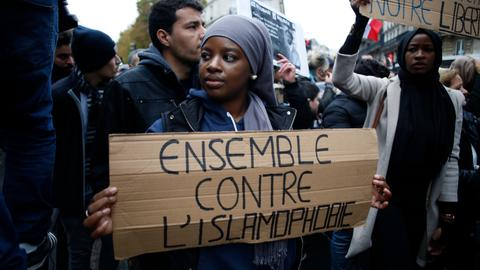 Why do so many in France oppose a march against Islamophobia and racism?