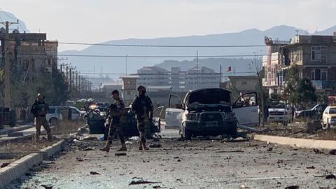 Car bomb attack in Afghanistan's Kabul kills at least 12