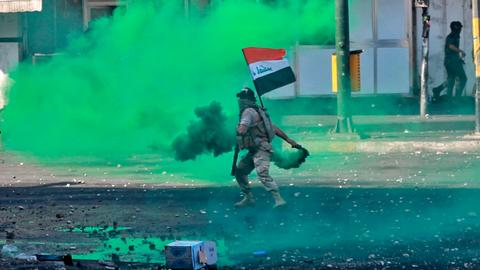 Civil disobedience, not terrorism, is the biggest threat to Iraq's elites