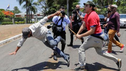 Guaido supporters end Venezuela embassy standoff in Brazil