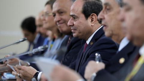 Egyptian opposition considers taking Sisi to international courts