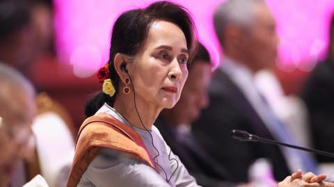 International suit filed against Aung San Suu Kyi, other Myanmar leaders