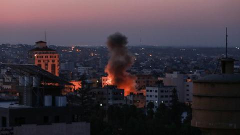 Israel bombards Islamic Jihad positions in Gaza