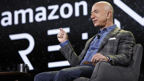 Amazon says 'bias' in Pentagon awarding $10bn contract to Microsoft