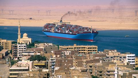 Suez Canal marks 150 years of troubled history