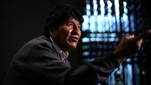 Ready to stand aside in new elections – Bolivia's ousted leader Morales