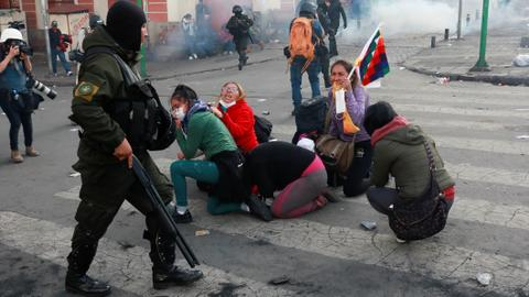 Five Morales supporters killed, over 70 wounded in Bolivia clashes