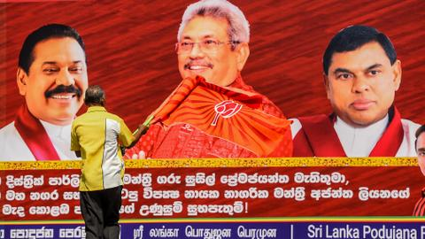 Former Sri Lankan defence chief Rajapaksa wins presidential vote