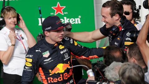 Verstappen pole is a 'big statement' says Ricciardo