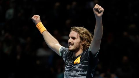 Tennis: Tsitsipas beats Thiem to win ATP Finals