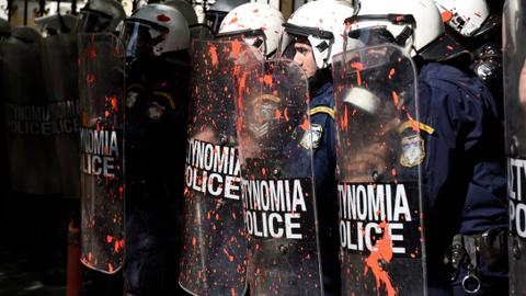 Greek police accused of 'crackdown' amid arrests and rising tensions