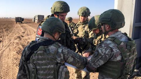 Turkish, Russian units complete 8th patrol in northern Syria