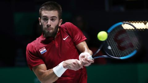 Lift off for revamped Davis Cup but Croatia fall flat