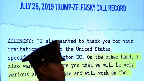 Firsthand witnesses recall Trump Ukraine call