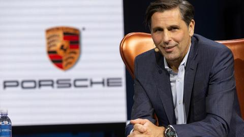 'Future is electric': Porsche sets out plans to battle Tesla in US