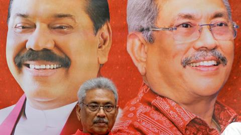 Sri Lanka's new president picks brother as Prime Minister