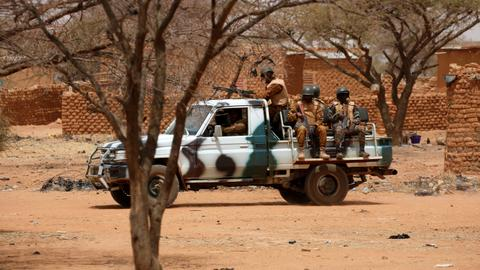 Eighteen militants killed in Burkina Faso – police