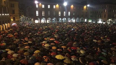 'Sardines' take on Italian far-right leader Matteo Salvini