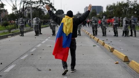 Colombia protesters hope to channel wave of discontent