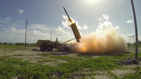 THAAD missile system is now operational in South Korea