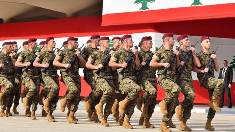 Parallel rallies mark Lebanon Independence Day