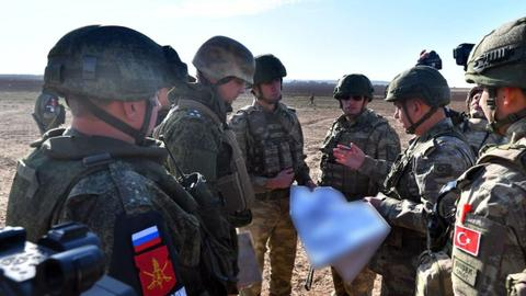 Turkey, Russia complete 10th joint patrols in northern Syria