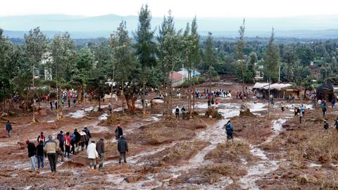 Kenya landslides kill at least 34 people