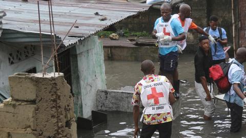 Floods in Democratic Republic of Congo claim dozens of lives