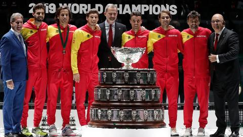 Nadal, grieving Bautista Agut lead Spain to Davis Cup title