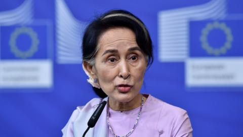 Myanmar's Suu Kyi rejects international observers in Rakhine state