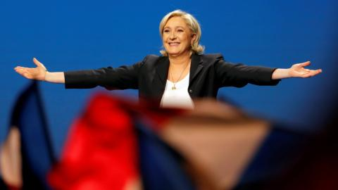 France's Le Pen accused of plagiarising Fillon speech
