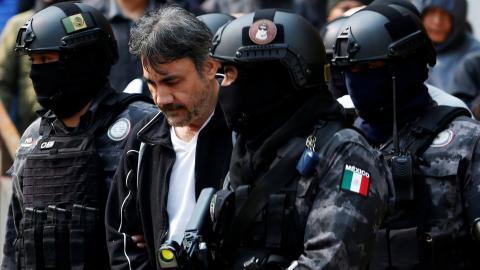 Mexico arrests Sinaloa drug cartel leader Damaso Lopez