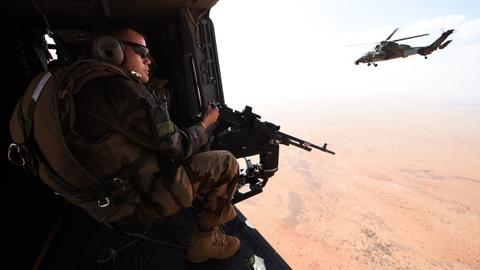 At least 13 French soldiers killed in helicopter collision in Mali