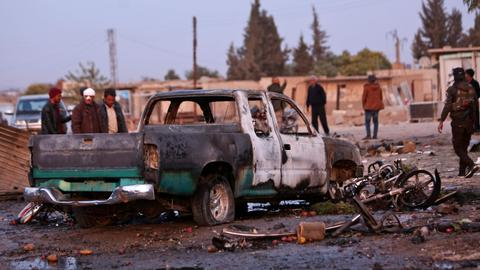 Car bomb kills at least 17 civilians in northern Syria