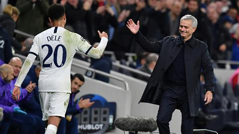 Tottenham hit back to beat Olympiakos in Mourinho's first home game